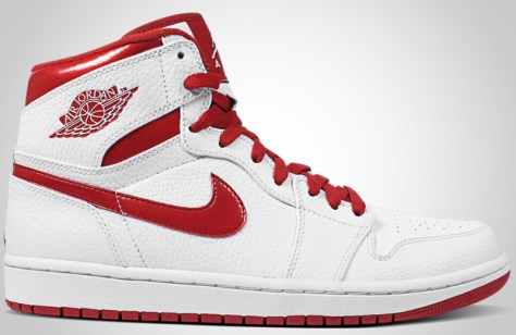 Air Jordan 1 High Retro White Varsity Red