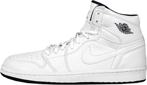 Air Jordan 1 High Retro White White Midnight Navy