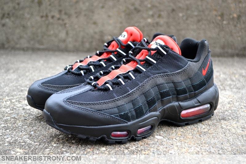 Nike Air Max 95 Essential Black/Challenge Red (1)