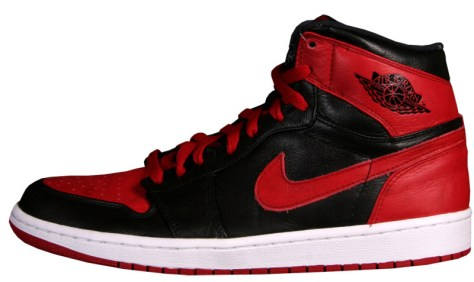 Air Jordan 1 Retro High Black Varsity Red White Banned