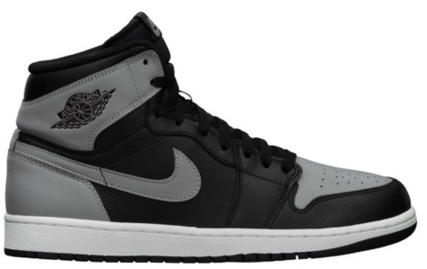 Air Jordan 1 Retro High OG Black Soft Grey White