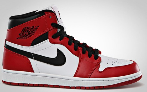 Air Jordan 1 Retro High White Varsity Red Black