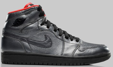 Air Jordan 1 High Retro Premier Pewter Black Max Orange