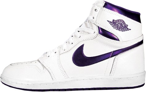 Air Jordan 1 High OG White Metallic Purple