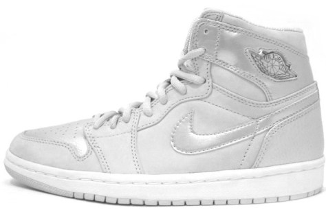 Air Jordan 1 High Retro Neutral Grey Metallic Silver