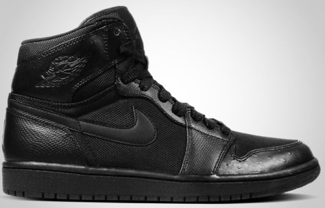 Air Jordan 1 High Retro Black Black Anthracite