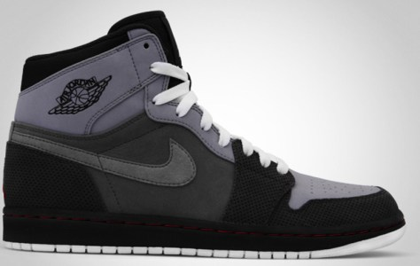 Air Jordan 1 High Retro Stealth Team Red Light Graphite Charcoal