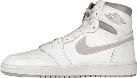Air Jordan 1 High OG White Natural Grey