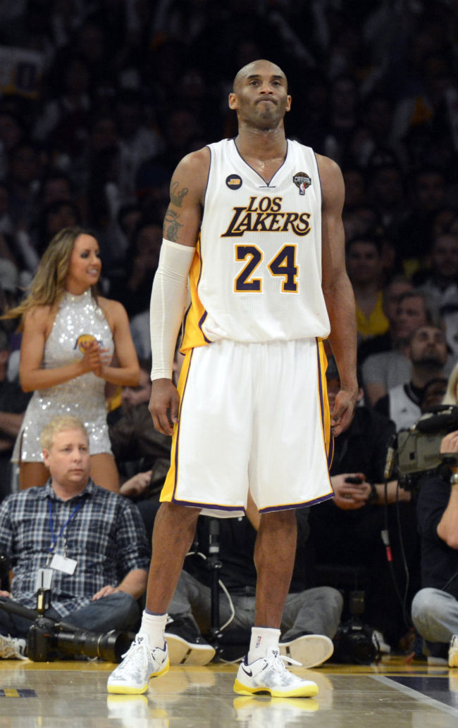 Kobe Bryant Nike Shoe Collection