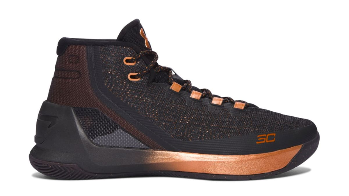 online store c9a9d e4025 Under Armour Curry 3 Brass Band Under Armour Sole