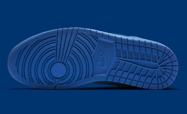 Air Jordan 1 High Blue Suede Release Date Sole 332550-404