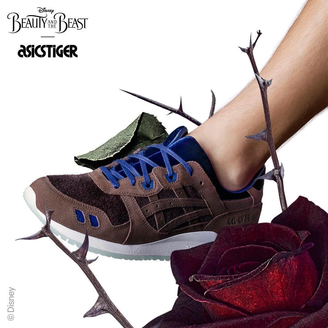 Disney Asics Beauty Beast Gel Lyte III Sneakers (4)