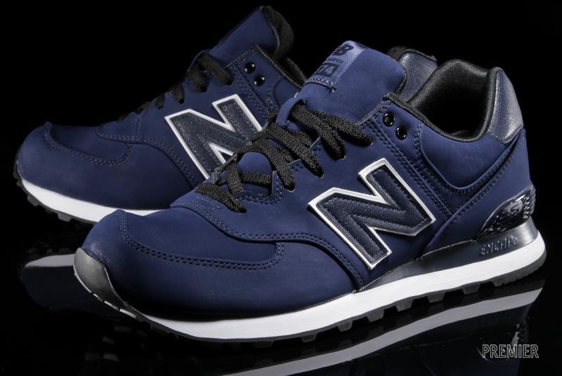 Navy Blue New Balance Boston