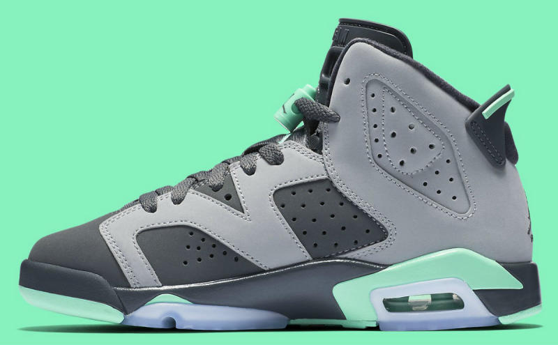 Air Jordan 6 GG Green Glow 543390-005 (3)