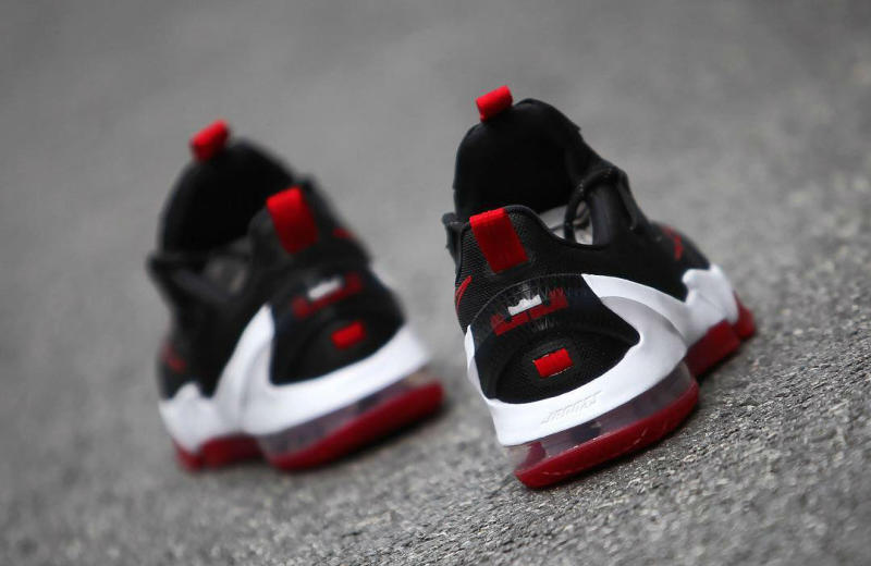 Nike LeBron 13 Low Black/Red (4)