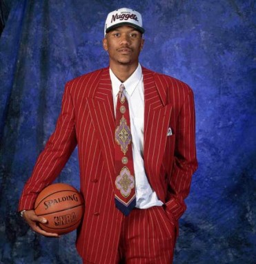 Image result for jalen rose draft suit