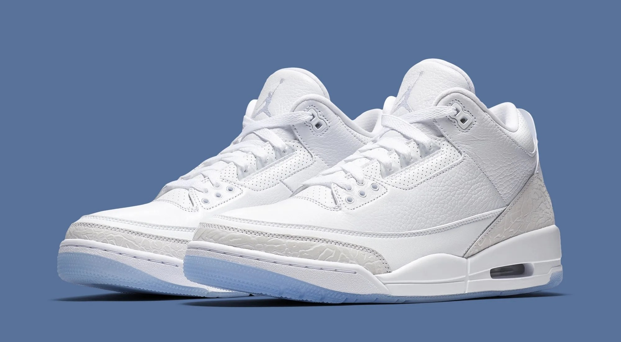 Air Jordan 3  Triple White  136064 111 Release Date   Sole Collector Air Jordan 3  III