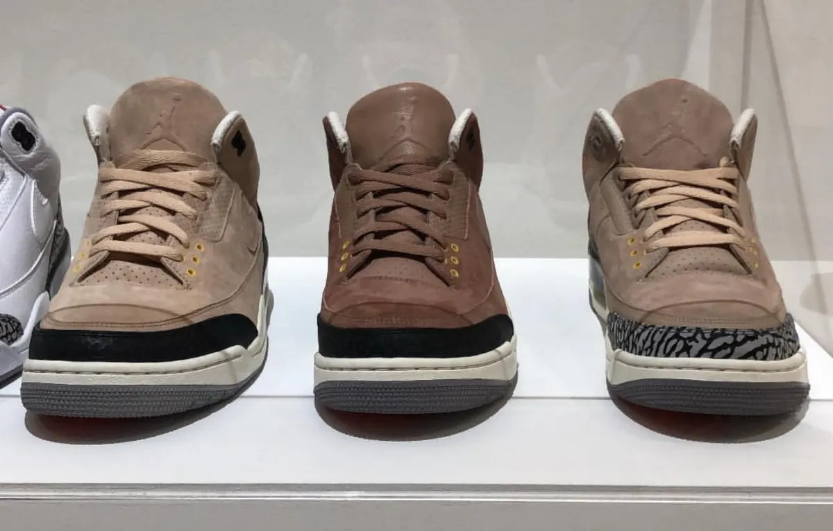 Justin Timberlake JTH Air Jordan 3 Brown Samples Sole