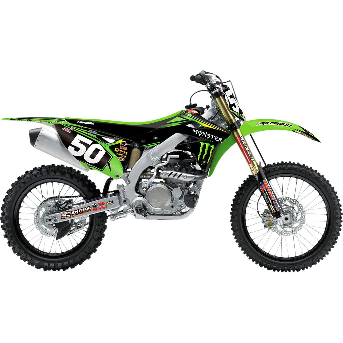 n style race team graphic kit for kx250 03 08