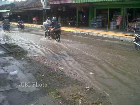Banjir Cawas Klaten