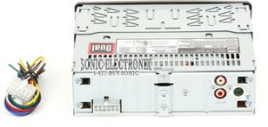 Dual XD1222 InDash AMFM CD Player with Front Panel Aux Input