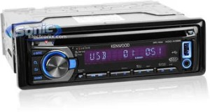 Kenwood KDCX395 (KDCX395) CD Receiver w LCD Display & SAT Ready