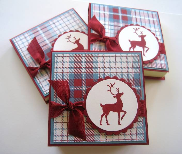 Christmas Post It Pads By Dpetersen At Splitcoaststampers