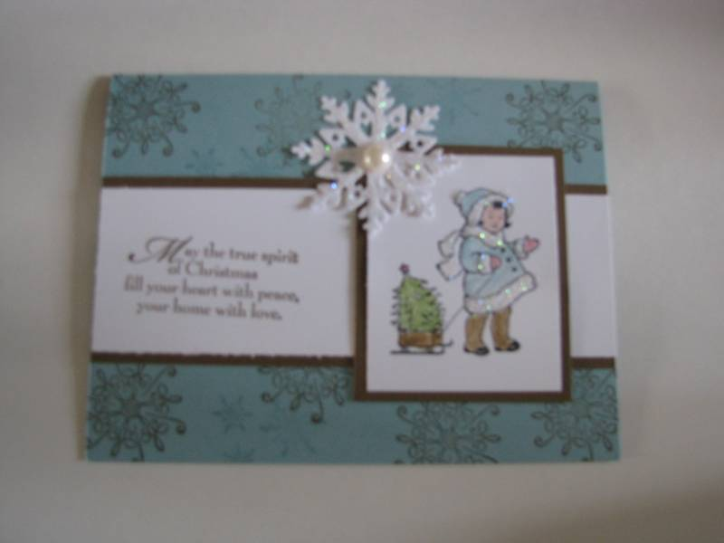 Christmas Greeting Card Kids By Nancy2043 At