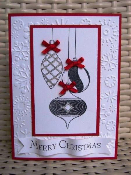 Merry And Type Baubles By Stamp My Day At Splitcoaststampers
