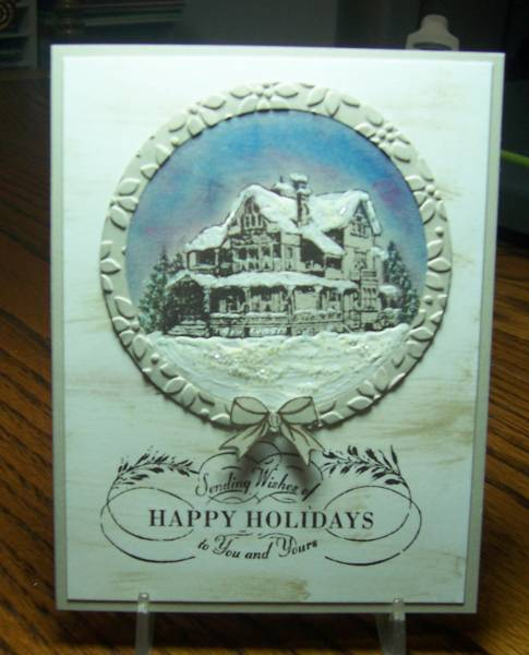 QFTD139 Christmas Lodge By Jandjccc At Splitcoaststampers