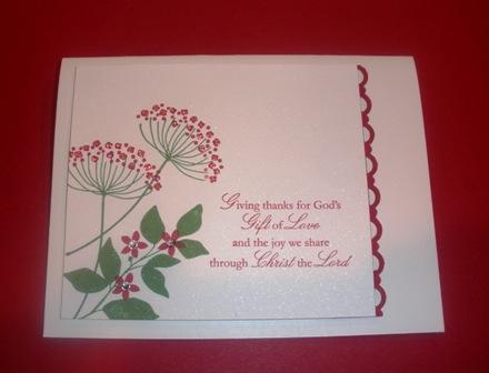 Summer Silhouettes Christmas Card By CHERYL LENTZ At