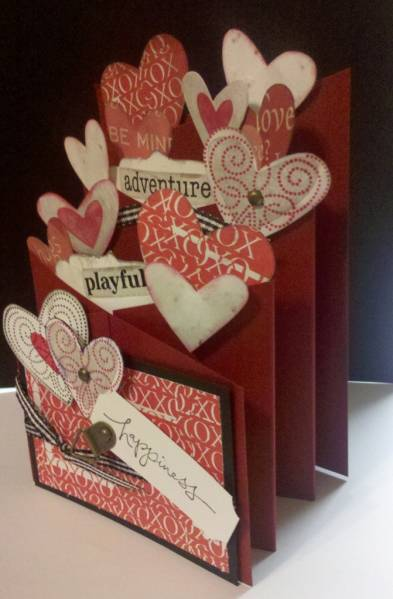 Valentines Day Cascading Card By MomToLissa At