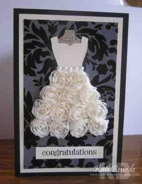 Stampin Up Wedding Card By Katebenade At