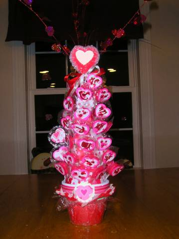 Valentine Lollipop Tree By Elawson At Splitcoaststampers