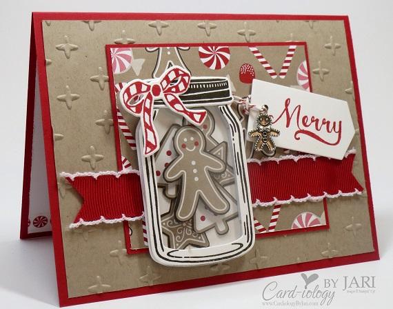Jar Of Cheer Meets Candy Cane Christmas By Jari At