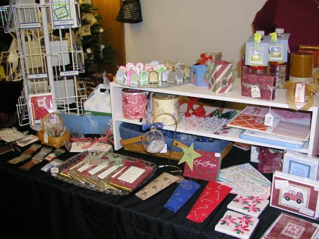 Christmas Craft Fair Display By TMRoberge At