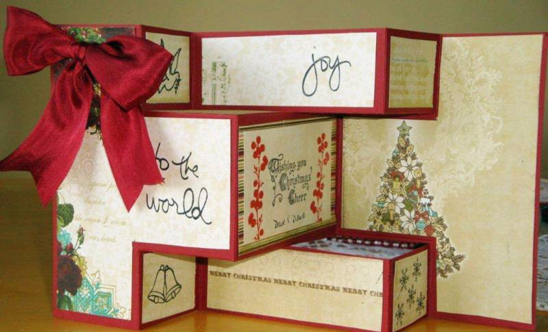Tri Shutter Christmas Card By Di2 At Splitcoaststampers