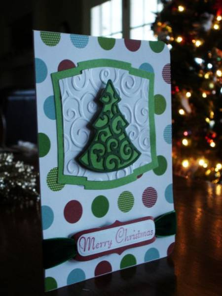 Christmas Cricut Card By Record Keeper At