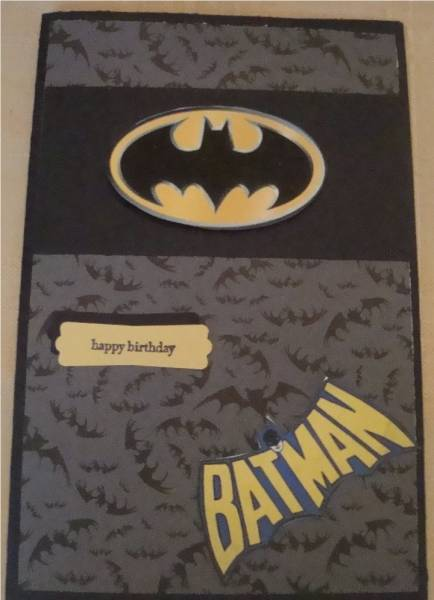 Batman Birthday Card By Terriharry At Splitcoaststampers