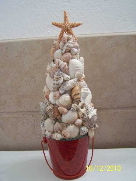 Seashell Christmas Tree By LADYB266 At Splitcoaststampers