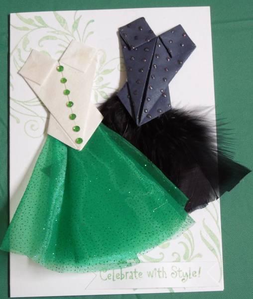 Origami Bodice Dress By GlendaC At Splitcoaststampers