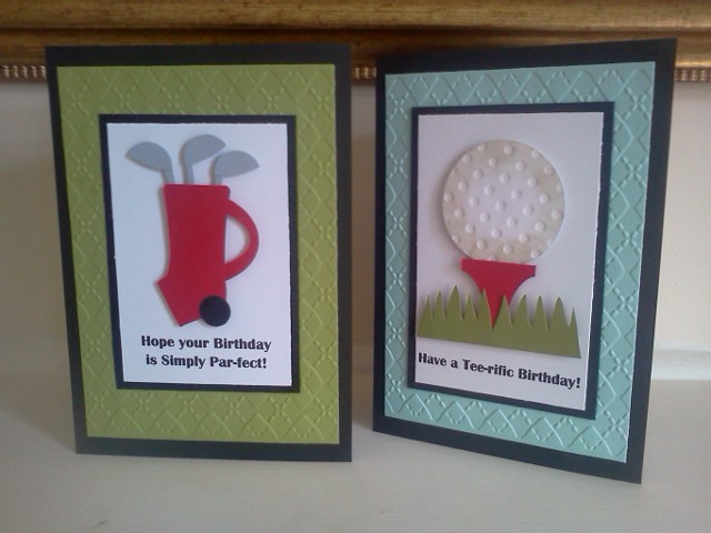 Anyone For Golf By Sarah B At Splitcoaststampers