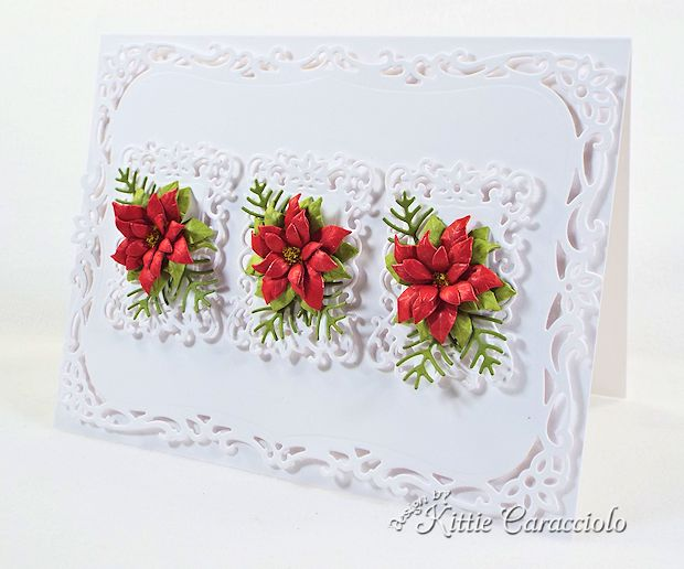 Clean And Simple Poinsettias By Kittie747 At