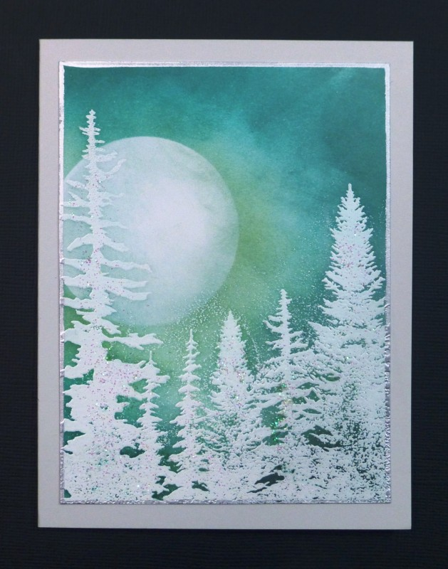 IC519 Moonlit Forest By Hobbydujour At Splitcoaststampers