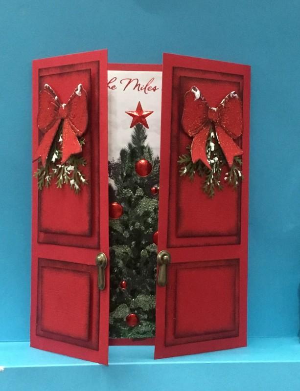 IC574 Christmas Doors By Jandjccc At Splitcoaststampers