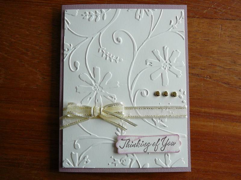 A Cuttlebug Sympathy Card By SuzyS1104 At Splitcoaststampers