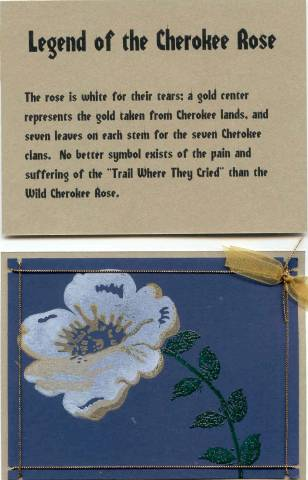 Legend Of The Cherokee Rose By Wittywon At