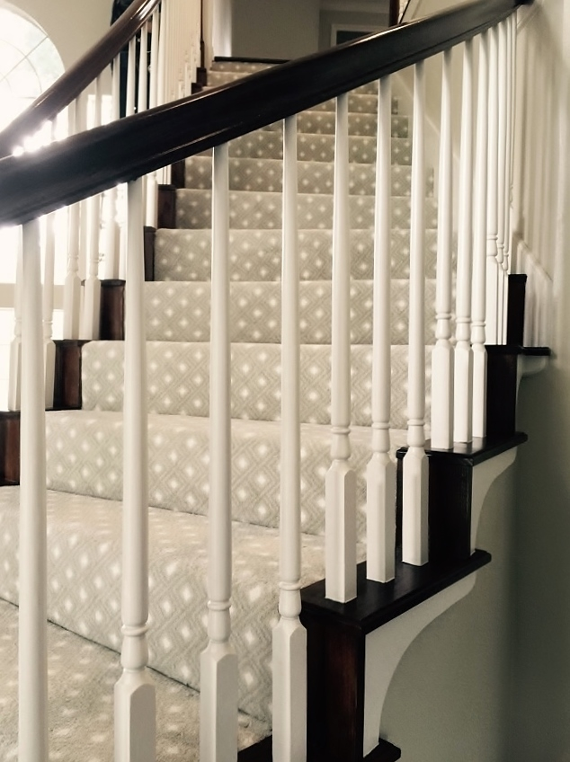 Should I Carpet My Stairs With The Same Carpet I Use Upstairs | Best Carpet For Basement Stairs | Patterned Carpet | Bob Vila | Carpet Runners | Staircase Runner | Hallway