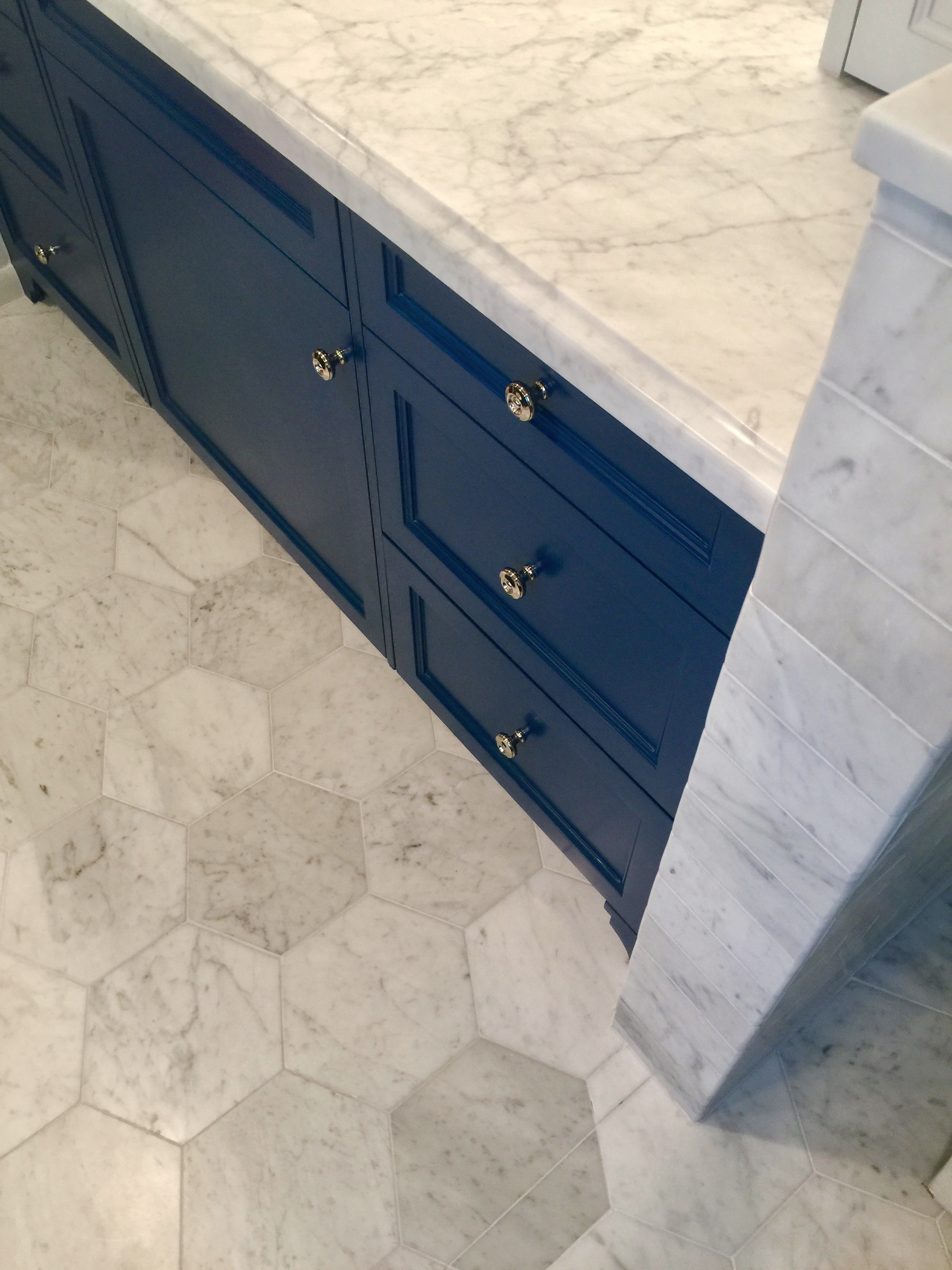 on trend the hex beehive tile shape