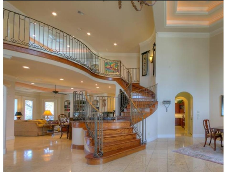 Consultation Advice Overbearing Wood Stairs A Huge Entry Hall | Staircase In Hall Design | 2 Storey House | Low Budget | Step Side Wall | Steel Verandah | Mansion